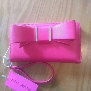 Betsey Johnson Bow wallet large